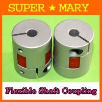 Wholesale 10pcs mmx6 mm CNC Stepper Motor thread couplers flexible screw jaw shaft coupling Diameter mm Length mm MB013