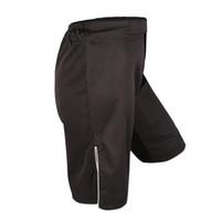 Precio de Pantalones patines-Wholesale-2016 de la venta caliente nuevo sólido de microfibra de poliéster Boxe hombres Mma Shorts Pantalones de entrenamiento transpirable rentable patín elástico del paño