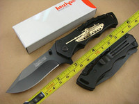 Wholesale New Kershaw aluminum Handle Fast Open Handle Folding blade Survival Tactical hunting knife camping knife knives BFF075