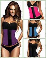 Cheap rubber latex corset Best sport Latex Waist Cincher