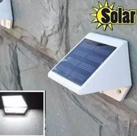 Wholesale Led Solar Lights Garden Lights for Garden Led Plastic Led Stair Solar Fence Lights Garden Control with IP65 Outdoor WALL LIGHT Solar Lamps