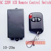 Wholesale 10sets New product AC220V CH RF Wireless Remote Control Switch system supply M4 T4 L4 and learning code