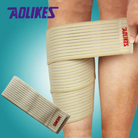 ankle support strap - 1 Pair cm elastic bandage tape sport knee support strap knee pads protector band for joelheira ankle leg wrist wrap