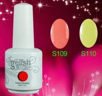 Wholesale Gelish Nail Polish Soak Off Nail Gel For Salon UV Gel Colors ml hot item