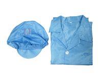 Wholesale anti static work clothes ESD Lapel Garment dust free MRO repair computer workshop labour protection appliance