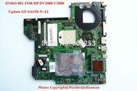 amd motherboard update - Original Update Video card for HP DV2000 V3000 AMD laptop motherboard NF G6150 N A2 DDR2 Fully Tested