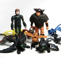 Wholesale 10PCS How to Train Your Dragon Hiccup Toothless Action Figures Hot Collection