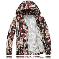 Wholesale long sleeved shirt sunscreen sunscreen clothing transparent camouflage couple traveling short coat sun protection