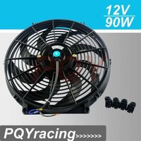 Wholesale J2 STORE Inch Universal V W Slim Reversible Electric Radiator AUTO FAN Push Pull With mounting kit Type S