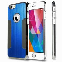 ebay - HOT On Ebay Blade Metal Electroplating PC Hard Case Brushed Aluminum Alloy Back Cover for Iphone quot Plus quot s s