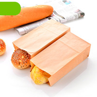 baking supplies discount - High Quality Kraft Dessert Biscuit Bag cm Eco Friendly Toast Bread Baking Paper Bag Discount SK738