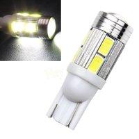 Wholesale 1Pcs new Car Auto LED T10 W5W not Canbus smd cree LED Light Bulb No error led light car styling HA10695