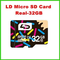 Cheap 80pcs free shipping LD Micro SD Card 32GB Class 10 Memory Card for Android Smartphone Tablet Camera