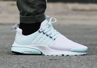 athletics upper - 2015 women and mens Presto BR QS running shoes Sport Shoes Air Mesh Upper Athletic Walking Shoes TN AIR PRESTO BR QS white green shoes