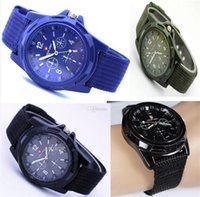 For Apple iPhone geneva watches - Christmas HOT Luxury Analog SWISS ARMY new fashion TRENDY SPORT MILITARY STYLE WRIST WATCH for MEN watch black green blue Geneva watches