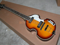 Wholesale top quality factory custom hofner Violin string H5001 CT electric bass guitar musical instrument retail
