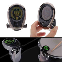 Wholesale For Drum Kit Set Drum Tuner Accurate Built in Rechargeable Battery Mic Pick up Design Cherub Drum Tuner
