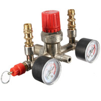 air pump control valve - Hot Sale Air Compressor Pressure Pump Control Switch Heavy Duty Valve Gauges Regulator Plastic Metal Material order lt no track