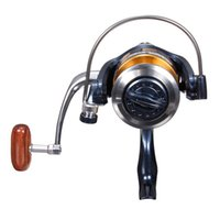 Cheap Hot sale Metal Fishing Reel Water Bait Lure tackle Spinning Reel SW5000 SW6000 9+1BB Fish ratio 5.2:1 Coil Pesca