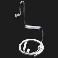 Wholesale High Quality mm Multifunctional Anti Radiation Air Tube Stereo Design Monaural Duct Earpiece Headset for All mm Phones Receive Calls