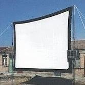Wholesale Factory supply quot inch Movie Foldable HD projection projector screen with Canvas material optional