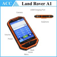 Android waterproof cell phone - Rugged Phone A1 Waterproof Smartphone quot MTk6515 Android Dual SIM Dual Camera Dustproof Shockproof Outdoor Rover Cell Phone