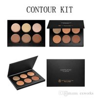 Wholesale Anastasia Beverly Hills Pro Series Contour Kit six sculpting and highlighting powders colors Contour palette eye shadow