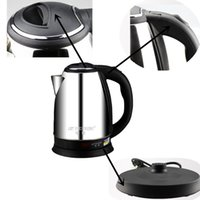 Wholesale 1pcs NEW Ovente Stainless Steel Cordless Electric Kettle Liter Brushed White