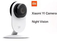 Wholesale Xiaomi YI IP Camera Wireless Wifi HD P Infrared Night Vision For Smart Home CCTV Security Xiaomi Mi Webcam Ants Camera DHL free
