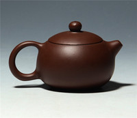 Wholesale High Quality Half Handmade Purple Sand Teapot Origianl From Yixing Chinese Teapot Capacity cc Style XiShi Teapot