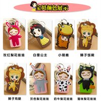 silicone sexy dolls - New Arrival Cartoon Baby Sexy Girl The Japan Pear Flower Doll Silicone Back Case Cover for iphone plus G S S Rubber phone Bag DHL