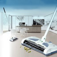 Wholesale 2016 New Wireless Sweeper Electric Floor Sweeper Electric Broom Mops Degree Rotatable Vacuum Cleaner for home Dust Cleaner