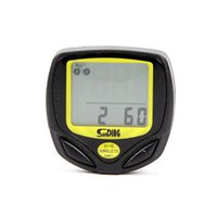 bicycle tier - Waterproof Bike Computers Black Performance Wired Wireless LCD display Computer Cycle Bicycle Bike Meter Speedometer Odometer Tier