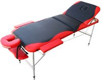 massage bed - Three section aluminum alloy massage bed Beauty bed spa bed high quality foliding portable massage bed