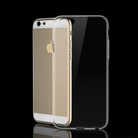 Wholesale 500PCS Clear Hard Case For Apple iPhone plus S S Thin Crystal Transparent Plastic PC Back phone Cover for Inch C