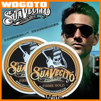 Wholesale 100 HQ Suavecito Pomade Hair Oil waxes Strong style restoring ancient ways is big skeleton hair slicked back DHL Fast Ship