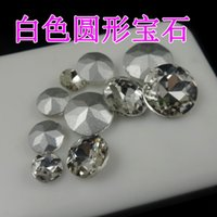 beauty gems factory - Factory outlets round high quality crystal gem diamond paste DIY beauty accessories phone accessories