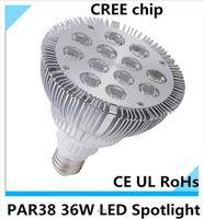 best jewelry lighting - Best LED Bulbs CREE E27 PAR38 Led Lamps LM W X3W V Cool Warm White angle led spotlight Ultra Bright jewelry light CE UL