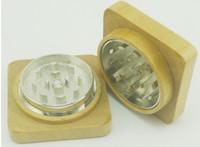 rasta - 2pcs new wooden grinder bob Rasta leaf wooden grinder CNC teech grinder mix designs