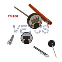 Wholesale Digital food thermometer TM100 TM with temperature meauring range degree and mm length probe