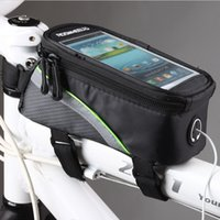 Wholesale 2014 quot inch Roswheel Outdoor Cycling Bike Bicycle Frame Front Tube PVC Bag For CellPhone