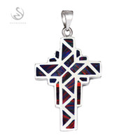 american best brands - Brand New Shinning Recommend Promotion Noble Generous S P009 Best Sellers Dark Blue Red opal Classic sterling silver Fashion Pendants