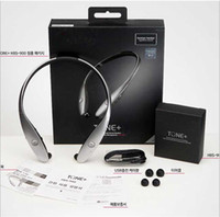 Wholesale HBS Sport Bluetooth Headset For IPhone Samsung HTC G3 Smartphone LG Tone HBS HBS Wireless Earphone Headphone
