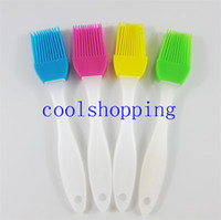 Wholesale Large Size Baking BBQ Bakeware Cake Pastry Bread Oil Cream Cooking Basting Brush Silicone kitchen utensils
