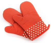 Wholesale Baking heat resistant oven gloves heat insulation anti slip extended high temperature resistant gloves