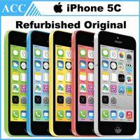 Wholesale Refurbished Original Apple iPhone C IMEI Unlocked G GB GB IOS8 inch Dual Core A6 CPU MP G LTE Smart Phone Free DHL