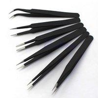 Wholesale P80 Hot sale Resists Corrosion Safe Anti static Tweezers Maintenance Tools ESD10