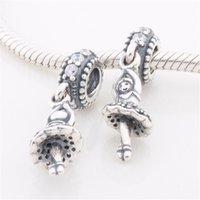 ballet gifts - Christmas gift Sterling Silver Bead thread jewelry Ballet Girl Charm fit Bracelet Necklace diy fashion gift for woman CB096