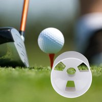 Wholesale White Plastic Golf Green Hole Cup Putting Putter Yard Garden Backyard Training cm Outdoor Aids Accessoroies MTY3