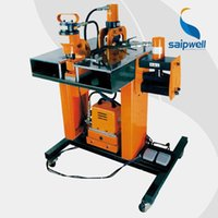 Wholesale Saipwell HB W hydraulic punch driver cutting punching horzontal bending erective bending